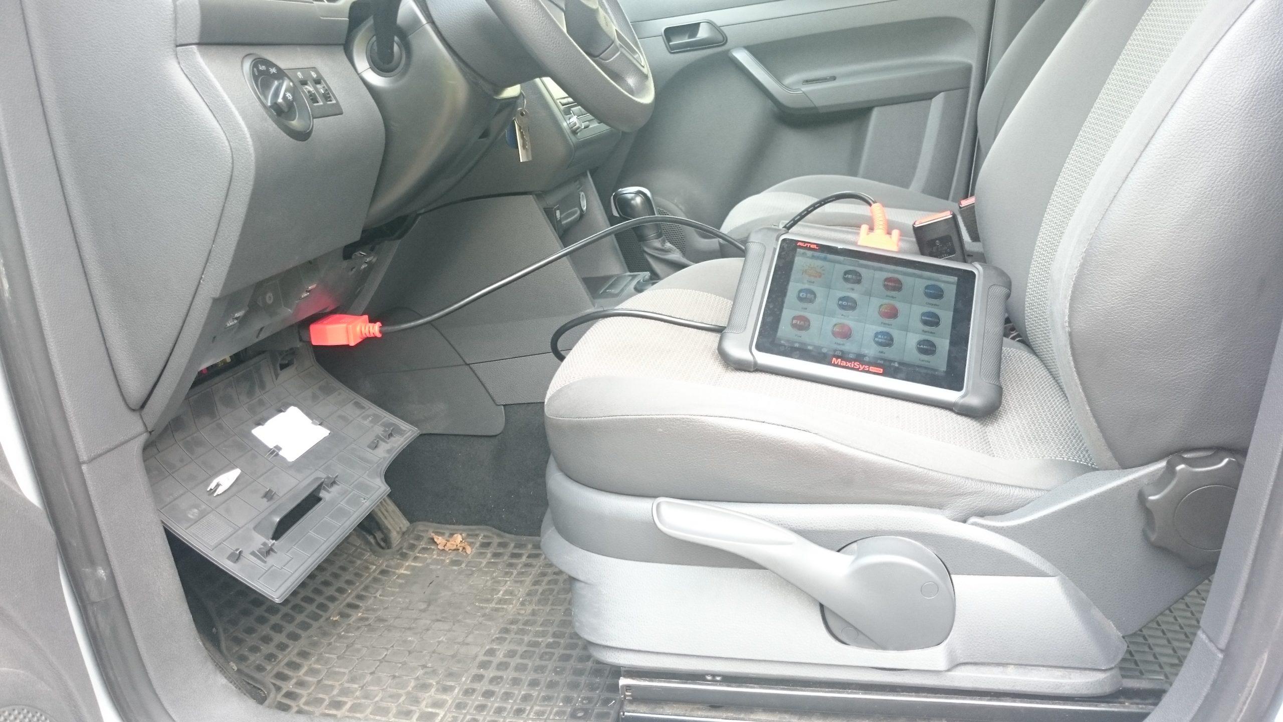Auslesen am Fahrzeug