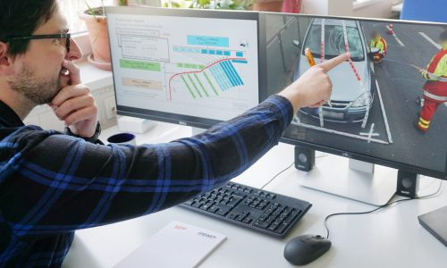 Simulation Mitarbeiter